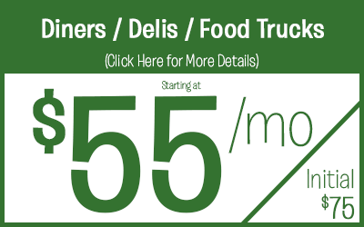 Diners / Deli's / Food Truck starting @ $55 a month