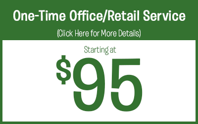 One Time Commercial Office / Retail Store Pest Control Service Protection starting @ $95