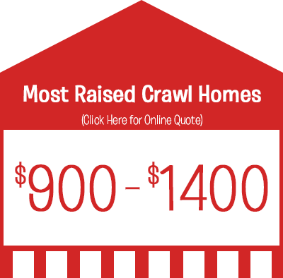 Crawl Homes Termite Treatment Prices